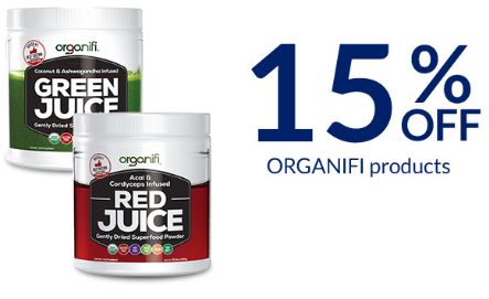 Get 15% Site Wide Discount Offer at Organifishop.com