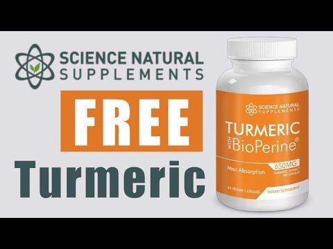 Buy 1 Turmeric Bottle & Get 3 Free